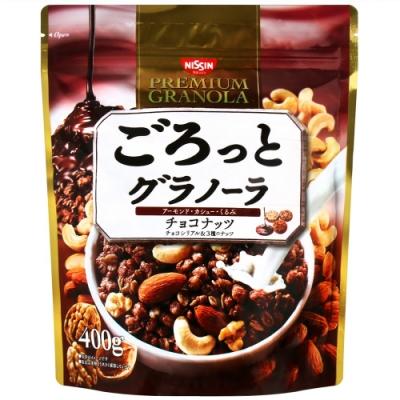 日清食品 巧克力綜合堅果穀片(400g)