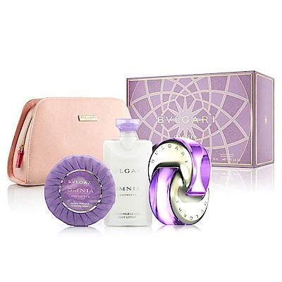 Bvlgari 寶格麗 花舞輕盈女性淡香水香氛禮盒(香水65ml+體乳75ml+香皂75g