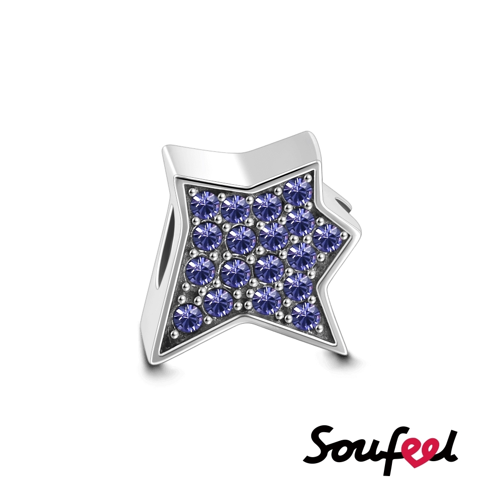 SOUFEEL索菲爾 925純銀珠飾 星星 串珠