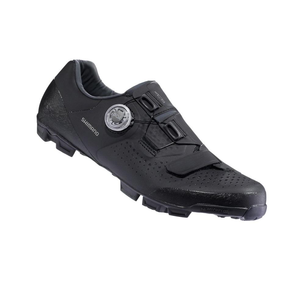 【SHIMANO】XC501 登山車鞋 黑色