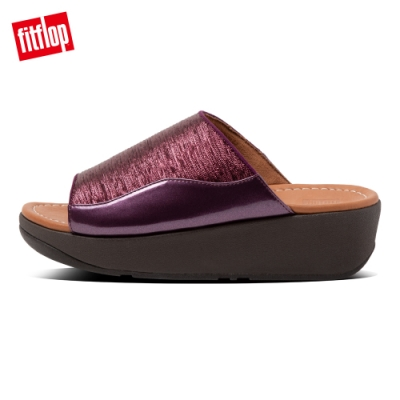 FitFlop MYLA GLITZ SLIDES涼鞋-女(紫紅色)