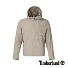 Timberland 男款象牙色戶外休閒連帽外套|A1OKJ