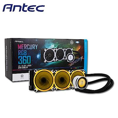 Antec 安鈦克 Mercury 水星 360 RGB CPU水冷散熱器
