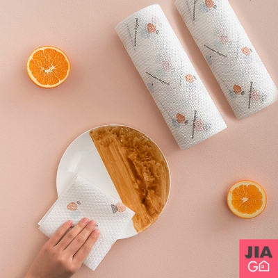 JIAGO 不織布廚房紙巾拋棄式抹布