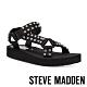 STEVE MADDEN-HENLEY-R-個性潮流風 寬帶鉚釘厚底休閒涼鞋-黑色 product thumbnail 1