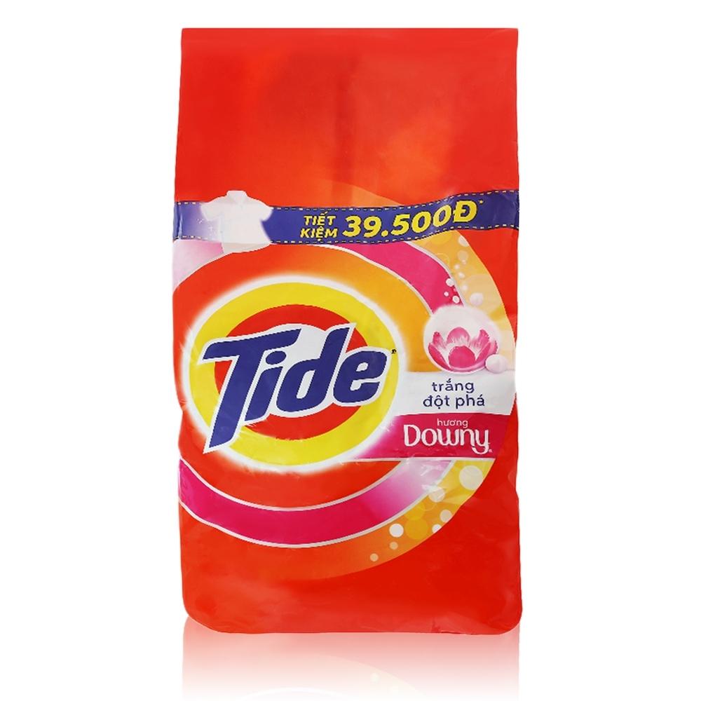 美國Tide 洗衣粉-5kg (含花香柔軟精)