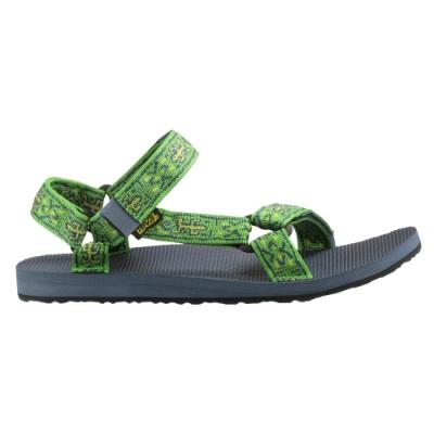 TEVA ORIGINAL UNIVERSAL 男 經典復刻款水陸涼鞋 蜥蜴綠