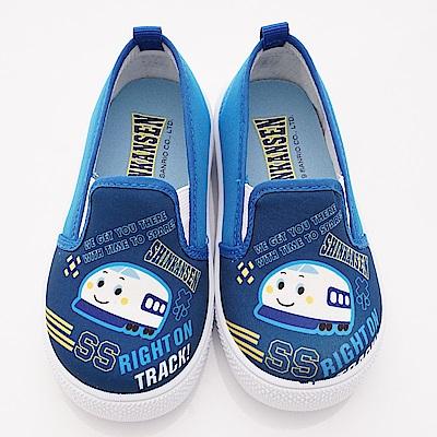 新幹線童鞋 輕量休閒鞋款 SE19822藍(中小童段)