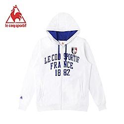 le coq sportif 法國公雞牌連帽外套 男-白