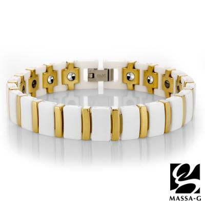 DECO X MASSA-G【白金風華】陶瓷手環