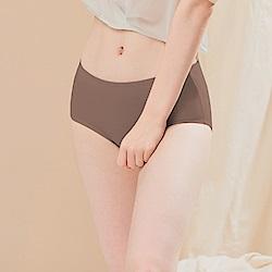 台灣製超細柔手感棉質中腰三角M-XL內褲 自傲深棕 可蘭霓Clany