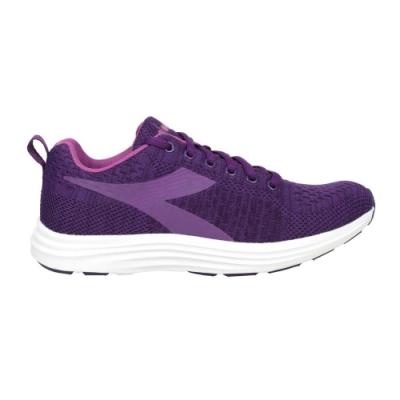 DIADORA 女進口慢跑鞋-路跑 避震 耐磨 運動 DA175597-C8909 深紫