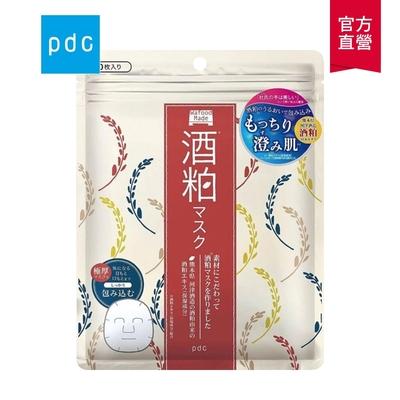 日本PDC Wafood Made 酒粕透潤面膜10片裝