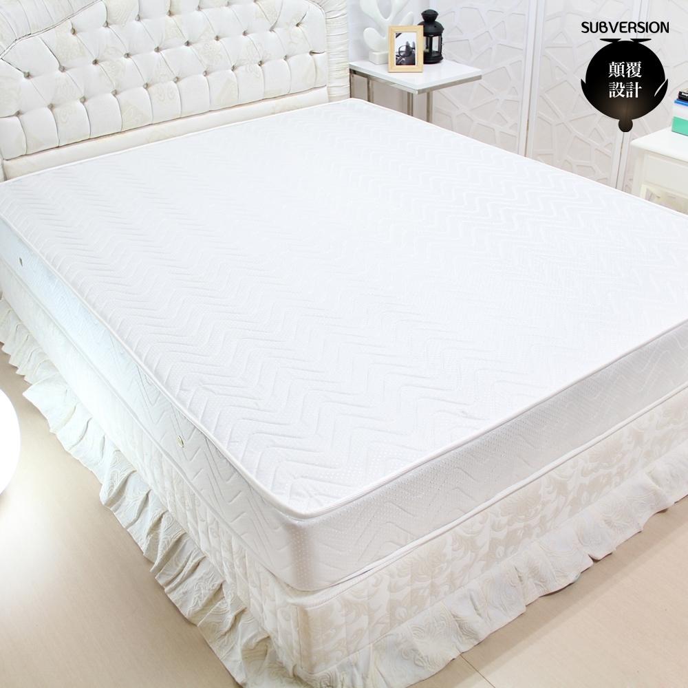 顛覆設計 超舒適二線獨立筒床墊-雙人5尺