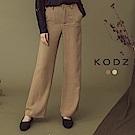東京著衣-KODZ 設計師心頭好OL必備質感寬口西裝褲-S.M.L(共二色)