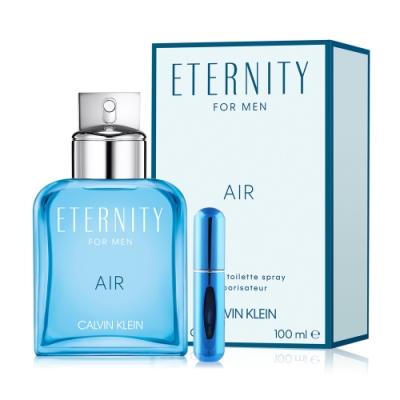 Calvin Klein CK Eternity 永恆純淨男性淡香水100ml加分裝空瓶