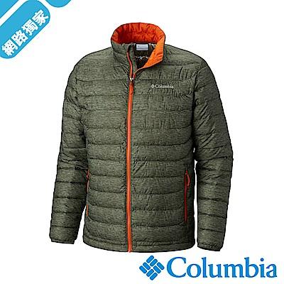 Columbia哥倫比亞 男款-Omni-HEAT 保暖防水外套-軍綠