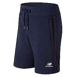 New Balance經典條紋針織短褲AMS