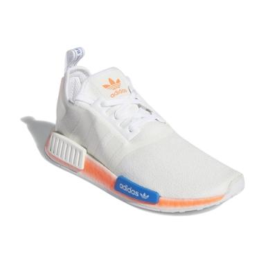ADIDAS NMD_R1 男女 慢跑鞋 白橘藍 FV7852
