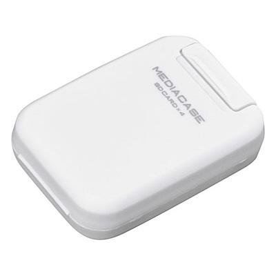HAKUBA 4片裝SD記憶卡盒(白/HA371314)