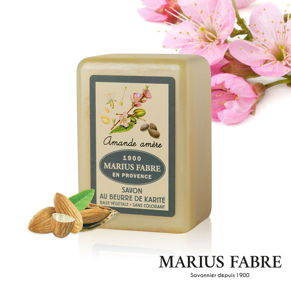 法國法鉑-天然草本苦杏仁棕櫚皂-250g/顆