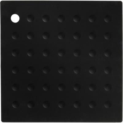 《Premier》Zing方形矽膠隔熱墊(黑)