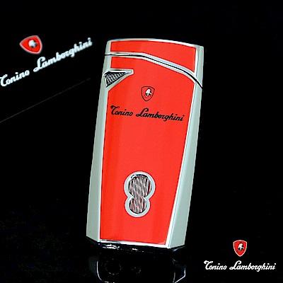 藍寶堅尼Tonino Lamborghini MAGIONE LIGHTER打火機(銀紅)