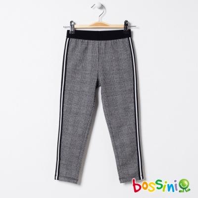 bossini女童-彈性輕鬆褲03淺灰