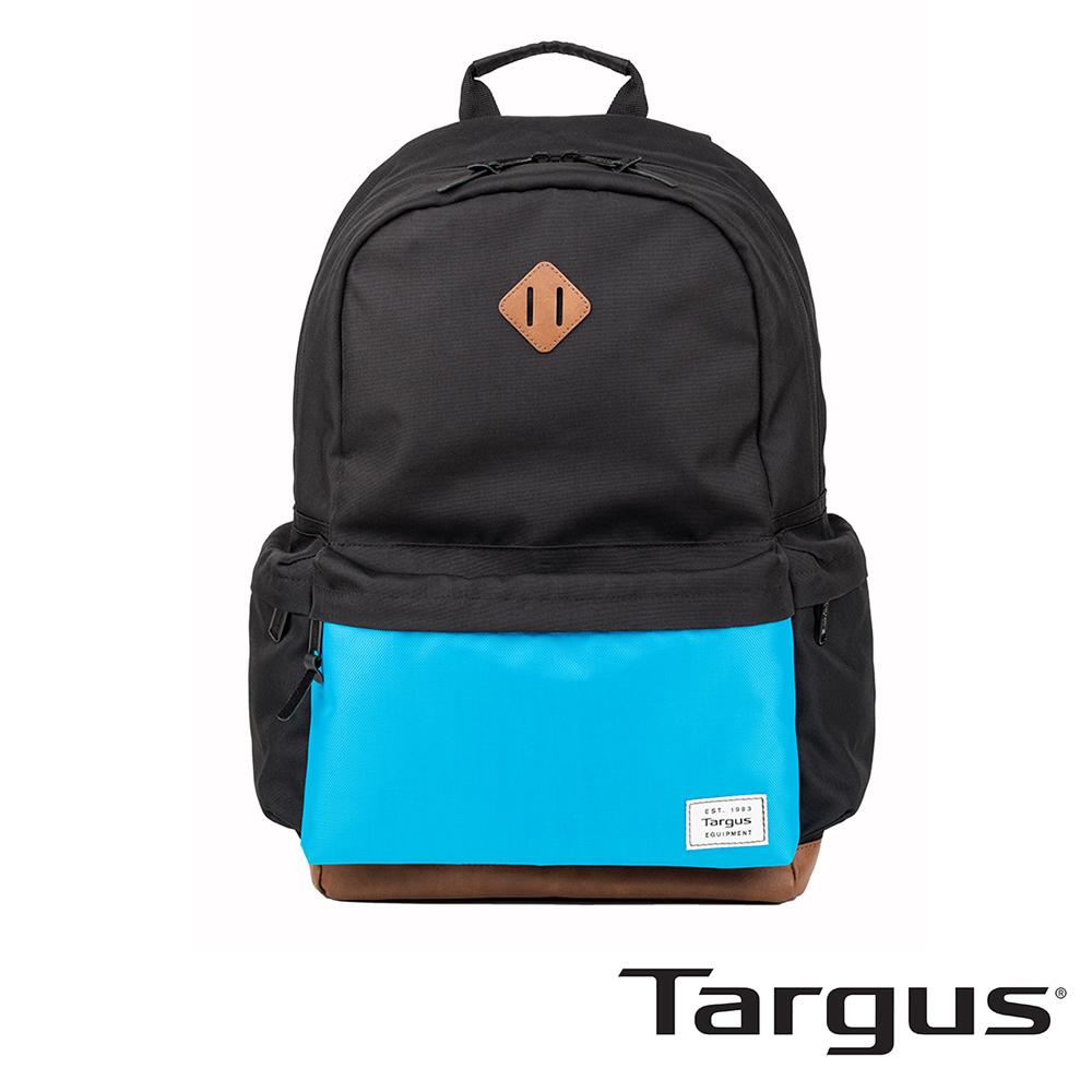 Targus Strata 校園後背包(漾藍-黑/15.6吋筆電適用)