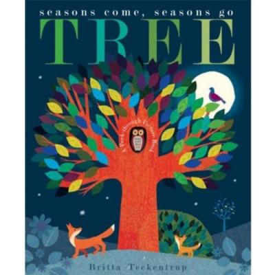 Tree:Seasons Come,Seasons Go 大自然的四季疊層洞洞書