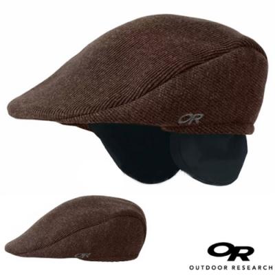 Outdoor Research PUB CAP 羊毛透氣保暖紳士護耳帽/保暖帽.狩獵帽.休閒帽.鴨舌帽.紳士帽_咖啡色