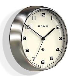 Newgate 英倫風格時鐘-摩登風格-亮銀-40cm