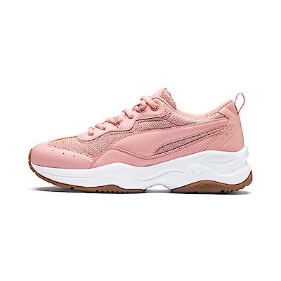 PUMA-Cilia 女性復古慢跑運動鞋-桃芽粉
