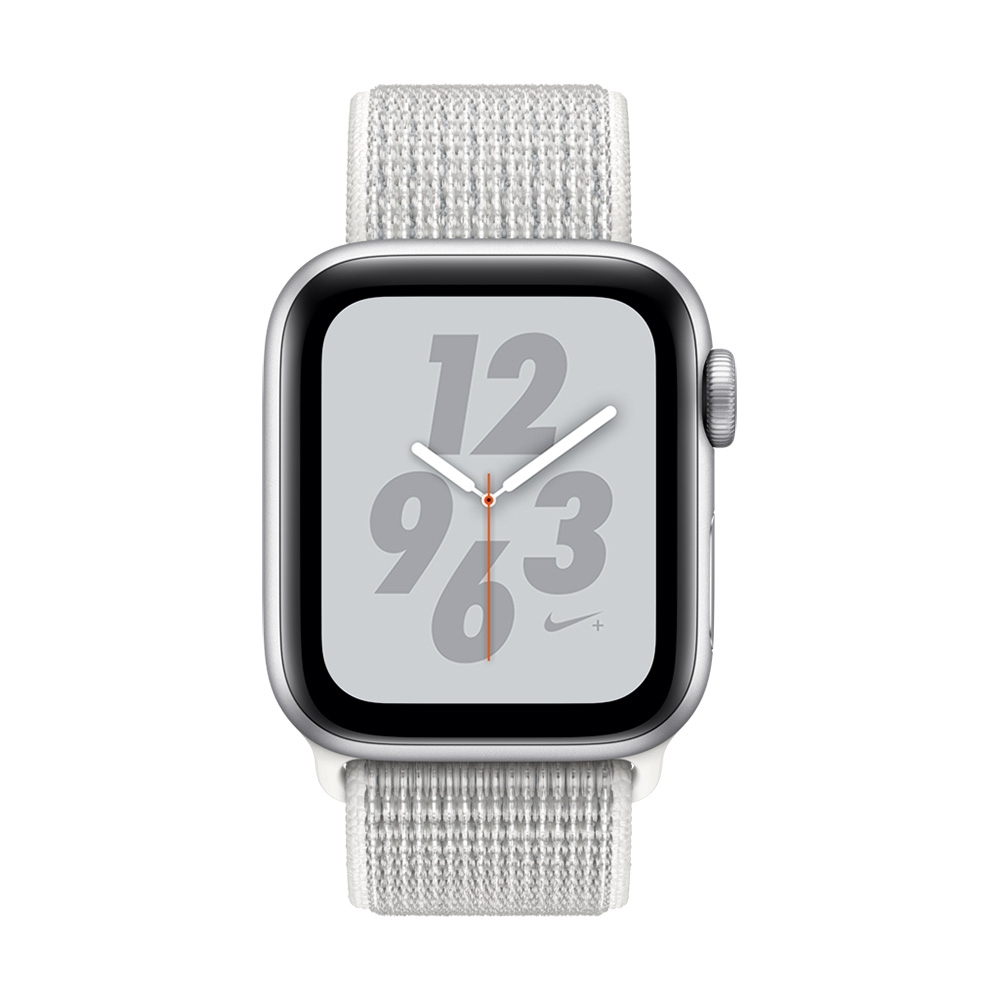 Apple Watch Nike+ S4(GPS+網路)40mm 銀色鋁金屬錶殼+雪峰白錶環