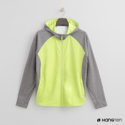 Hang Ten - 男裝 - ThermoContro-撞色輕量機能外套 - 綠
