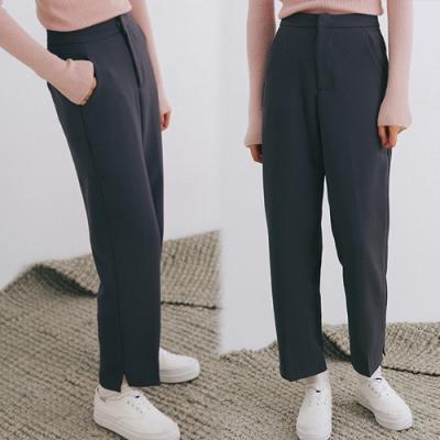 【韓國K.W.】(預購)韓新品夏日焦點時尚西裝褲-1色