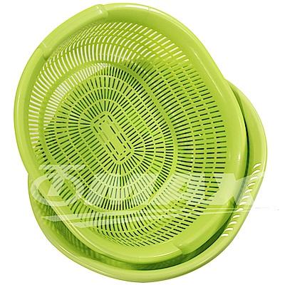 omax日製清洗超大瀝水籃-2組