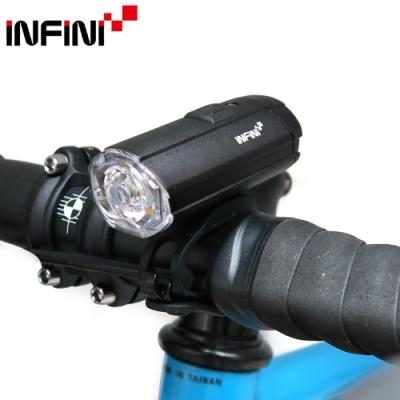 INFINI TRON 500 I-282P環境自動光感控500流明輕量鋁合金前燈-黑