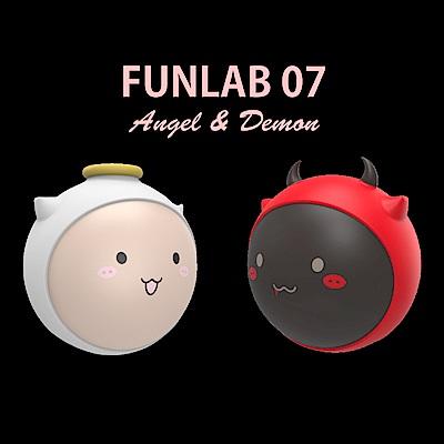 [funlab] 天使與惡魔暖手寶+行動電源5600mAh