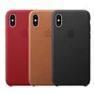 Apple 原廠 iPhone X Leather Case 皮革保護殼 (公司貨)