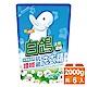 白鴿 天然濃縮護纖抗菌洗衣精補充包-天然綿花籽2000gx6入/箱 product thumbnail 1