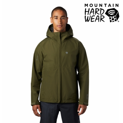 【美國 Mountain Hardwear】Exposure2 Gore-Tex Paclite Jacket GTX輕量防水連帽外套 男款 深軍綠 #1882081
