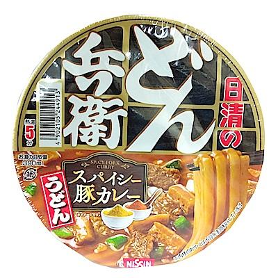 日清 香濃咖哩風味烏龍碗麵(86g)