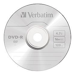 Verbatim 威寶 16X DVD-R光碟片 50片布丁桶