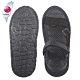 AC Rabbit 低均壓氣墊休閒涼鞋-黑色 product thumbnail 1