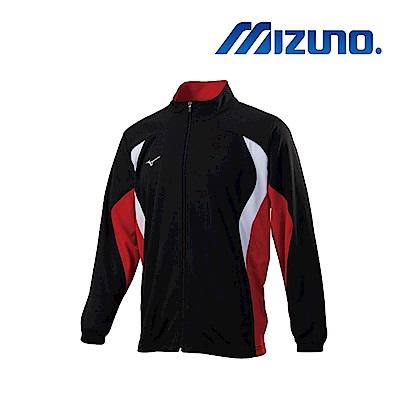 Mizuno 美津濃 男針織運動外套 黑紅 32TC853596