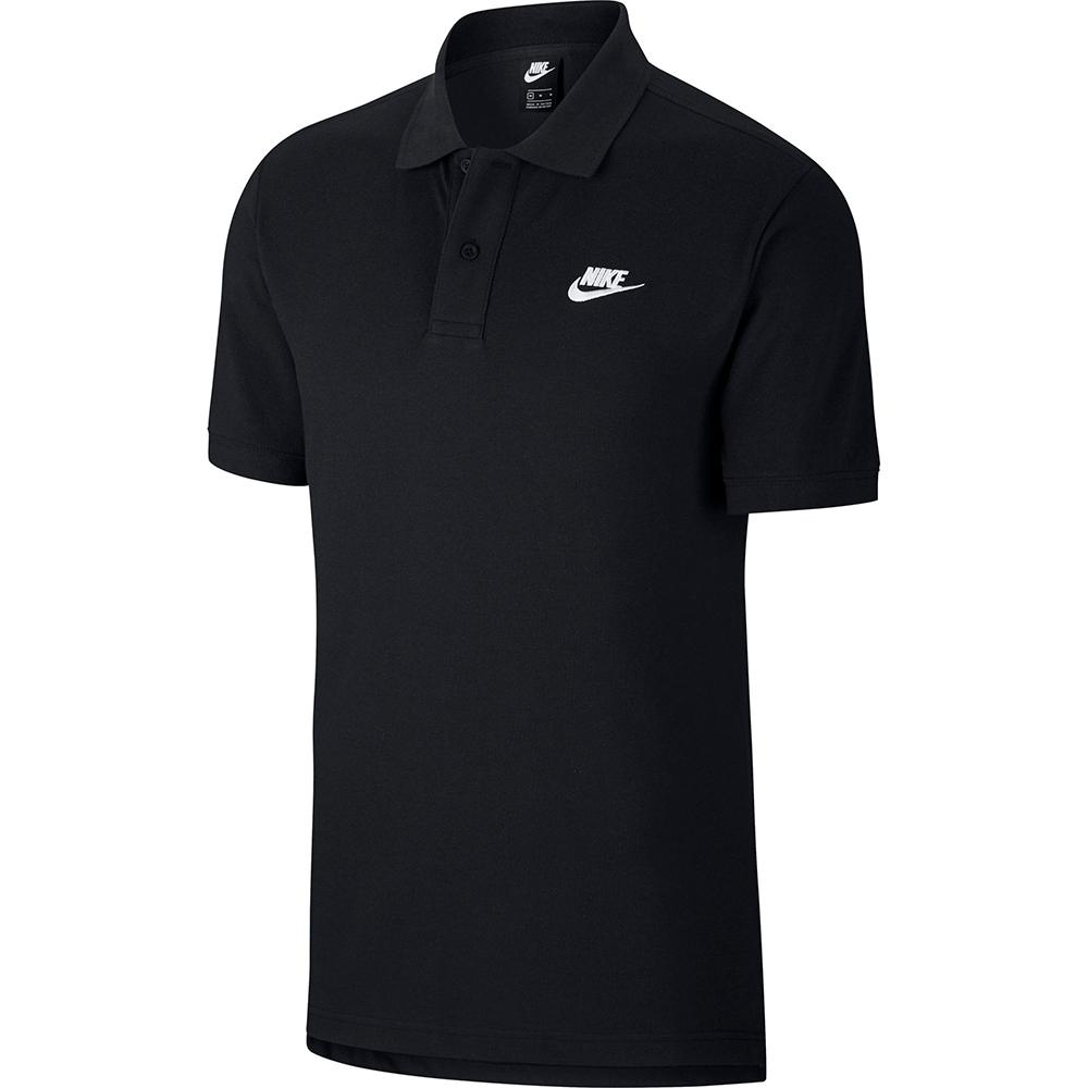 NIKE  休閒 運動 短袖上衣 POLO衫  男款  黑  CJ4457010  AS M NSW SCE POLO MATCHUP PQ