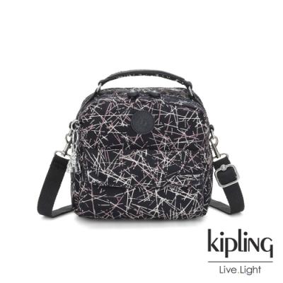 Kipling 英式粉漆塗鴉兩用側背後背包-CANDY