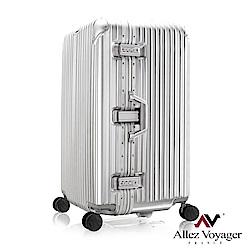法國奧莉薇閣 29吋行李箱PC鋁框旅行箱 Sport運動版 (銀色)
