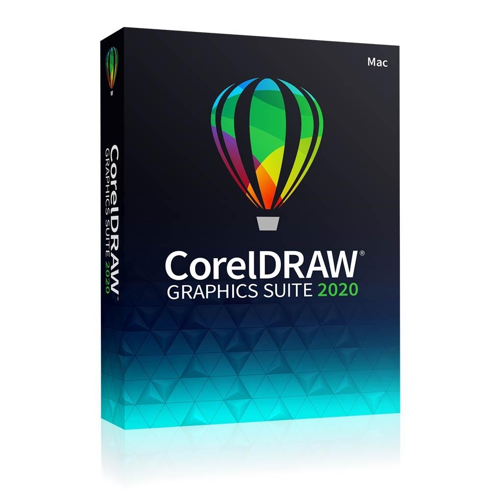 CorelDRAW Graphics Suite 2020中文完整版盒裝(MAC)